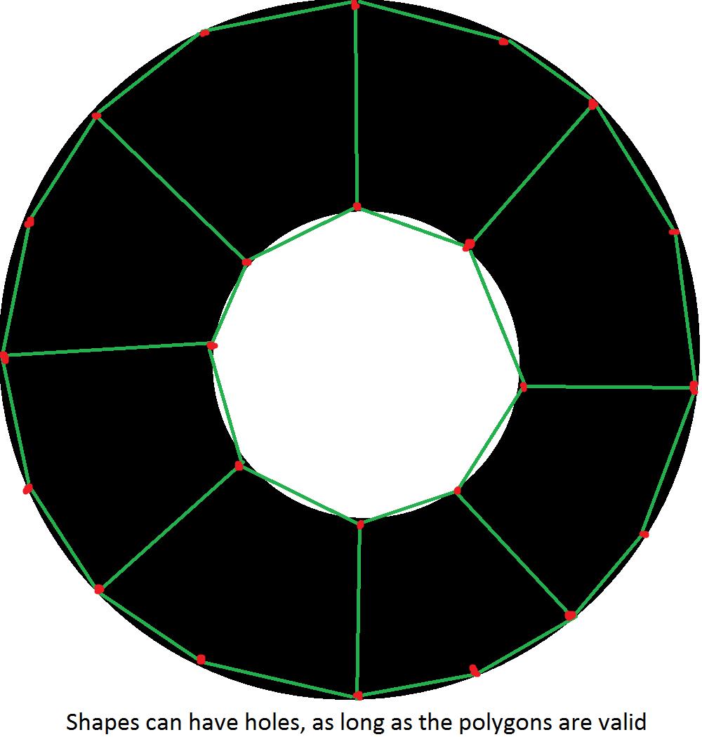 Gamesalad custom collider - Polygon_example Polygon_example2 To Assign A Custom Collision Shape