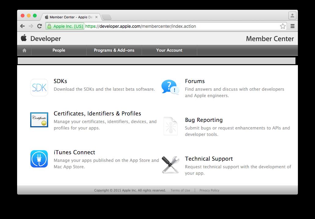 1  Developer, App Store and Ad Hoc Certificates / CSR